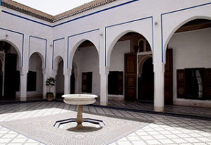 bahia palace about marrakech